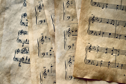 Music Note Paper That from the musical that