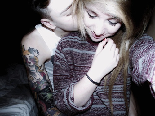 beauty, boy, casal, couple, cute, girl, guy, hair, love, make, photo, photography, scene, sexy, tattoo