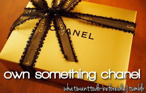 before i die, bieberczech, bucket list, chanel, dream