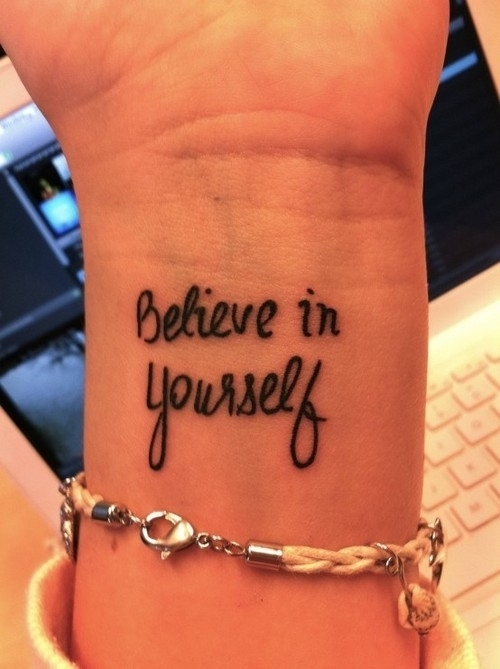 belive, black, hans, tatoo, you, yourself