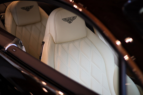 bentley, car, luxury, seats