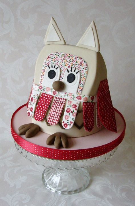 birthday, cake, cake decoration, candy, cute, love, owl, party, sweet