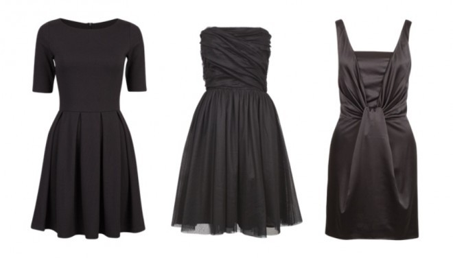 black, black dress, black is the new black, clothes, cubus