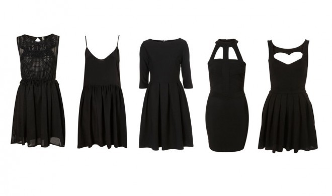 black, black dress, black is the new black, clothes, dress