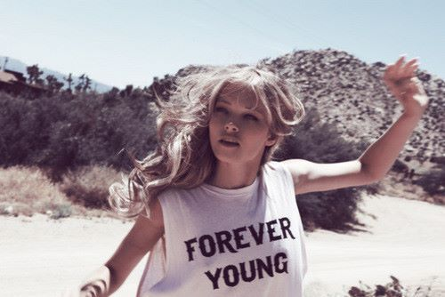 blond girl, forever, girl, t shirt, young
