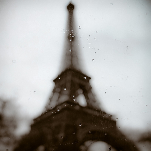 blur, eiffel tower, eiffelturm, paris, photography, rain, regen