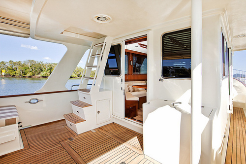 boat, luxury, summer