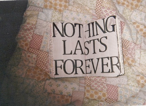 book, cute, forever, love, nothing last forever