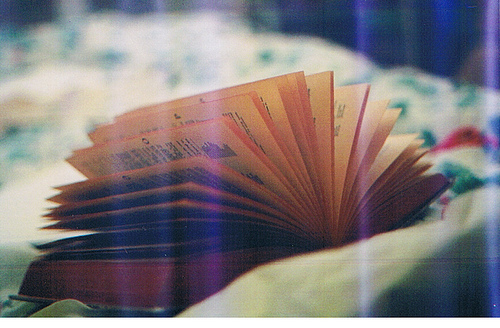 book, film, film grain, hipster, indie, light leak, story, vintage