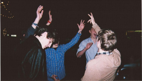 boy, boys, drunk, friends, hands, happy, hipster, indie, party, shirt, smile, smiling