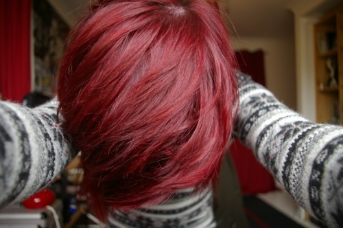 boy, cute, dyed, guy, hair, hairstyle, hot, jumper, photography, red ...