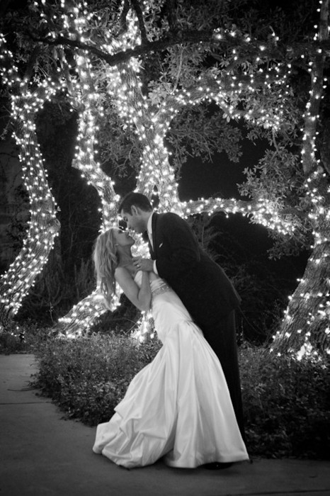 bride, dress, groom, lights, love