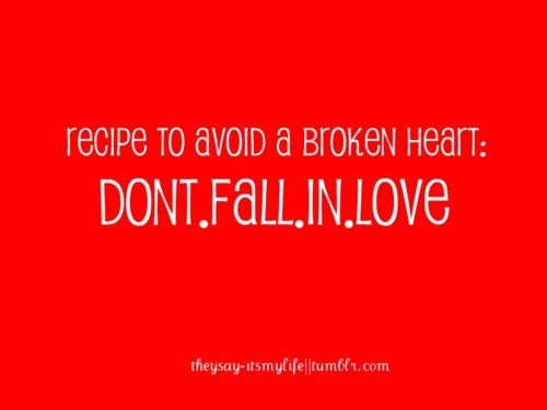 broken heart, love, quotes, recipe, red