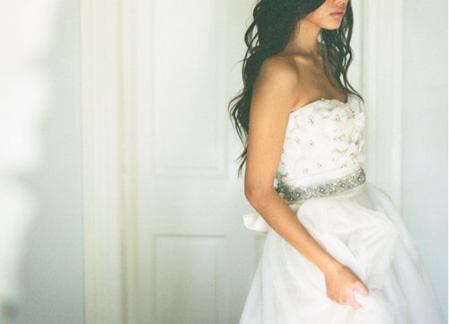 brunette, dress, fashion, gorgeous, wedding dress, white dress