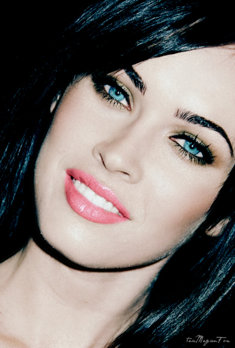 brunette, eyes, gorgeous, hair, hot, lips, make up, megan fox, sexy