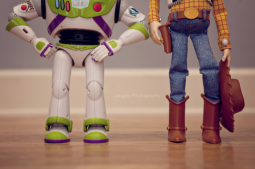 buzz, buzz lightyear, disney, dolls, legs, photo, photography, pixar, toy, toy story, toys, woody