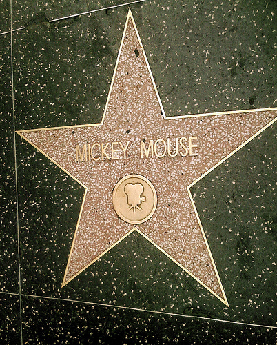 california, disney, hollywood, mickey mouse, star