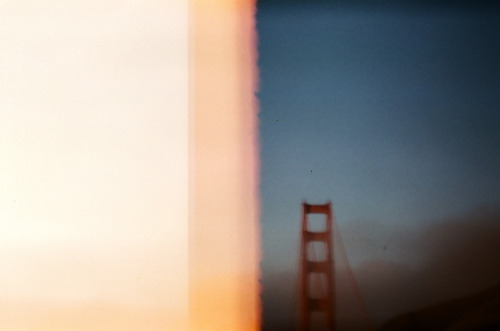 california, film, golden gate bridge, holga, lomo