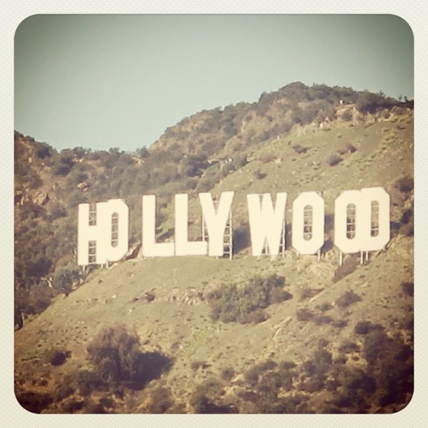 california, hollywood, hollywood sign, los angeles, sign