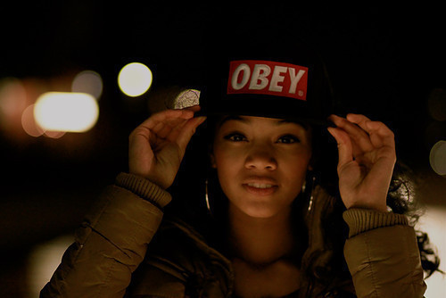 cap, chick, cool, girl, hot, obey, sexy, swag, sweet, thats me