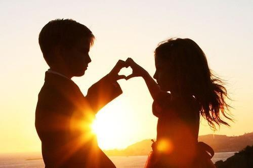Image result for picture where a child offer love at an