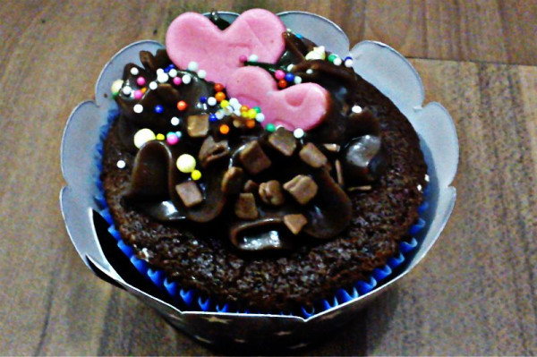 chocolate, cupcake, hearts, sweet