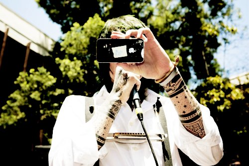 christofer drew, iphone, never shout never, tattoo, tattooes