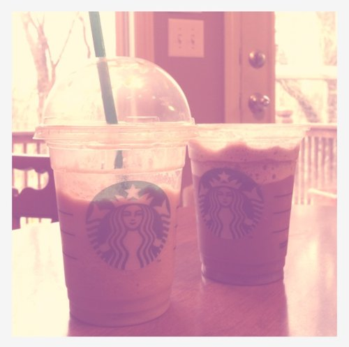 coffee, cool, cute, drink, drinking, food, photo, photography, starbucks, style, text, vintage