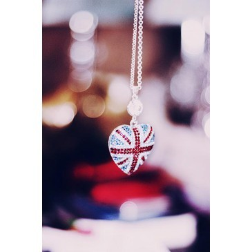 collar, cool, fashion, flag, hot, necklace, shine