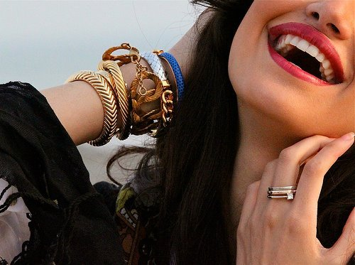 colors, cool, cute, fashion, girl, girls, photo, pretty, rings, smile, style, vintage, woman