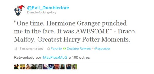 cool, draco malfoy, funny, harry potter, hermione