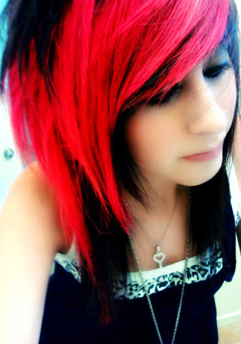 cute, emo, emo girl, girl, hair, image, photo, preety, scene, scene girl