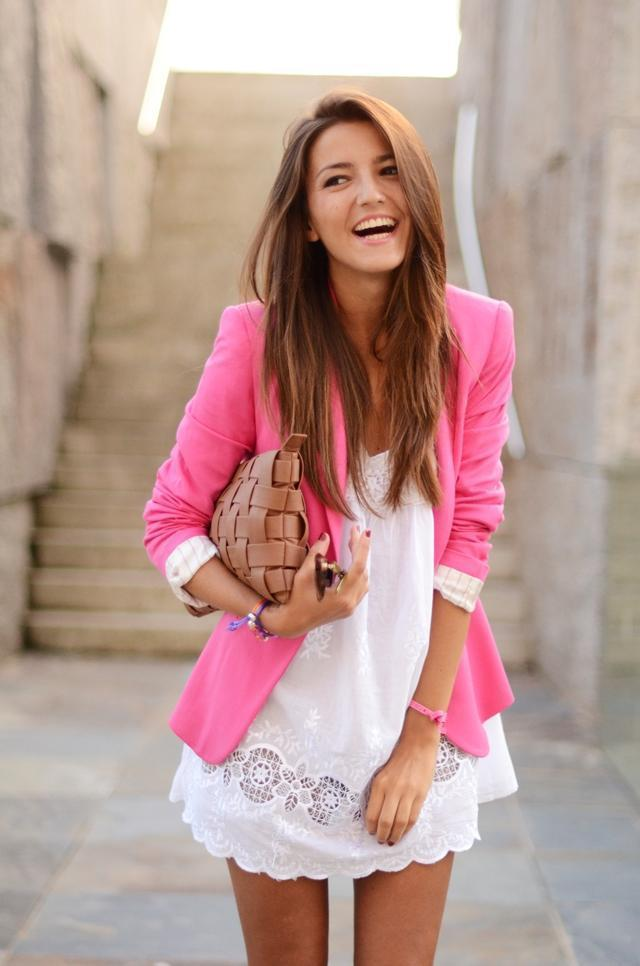 cute, fashion, girl, hair, pink