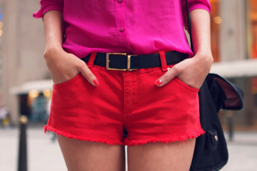 cute, fashion, love, outfit, pink, red, summer