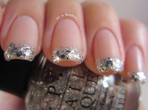 cute, glitter, nail polish, nails, shiny
