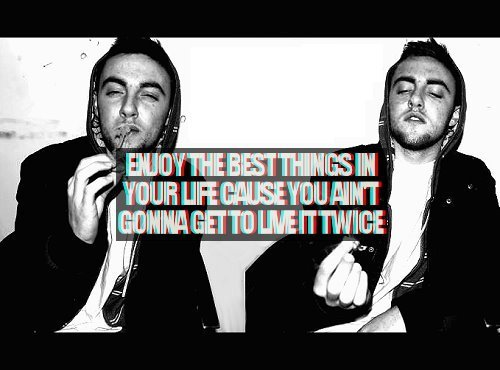 cute, love, mac miller, miller, quote, text