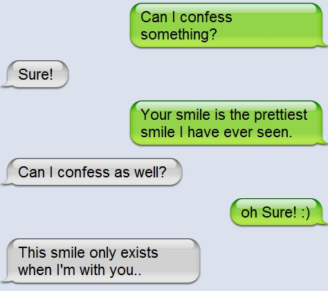 what can i text a girl to make her smile