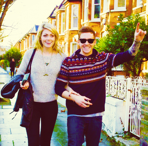 danny jones, georgia horsley, look at themmmmm, mcfly