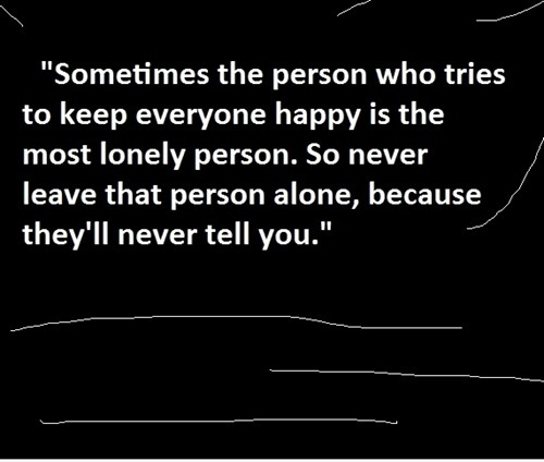 depressing, lonely, quote, truth