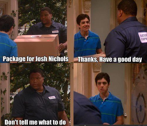 drake and josh, josh nichols, lol, package