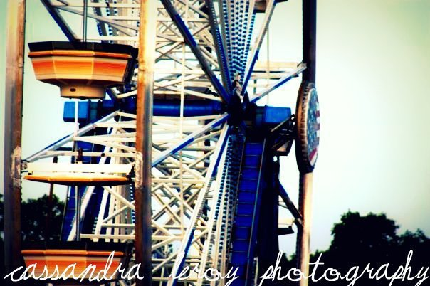 fair, ferris wheel, photography, vintage