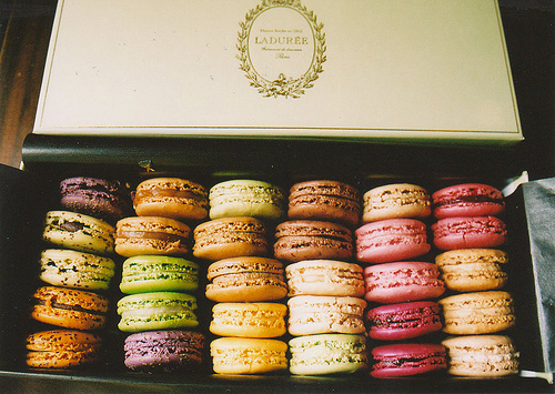 food, laduree, lovely, macaron, paris, sweet
