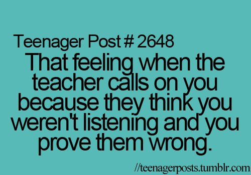 fuck you, life, prove, teacher, teenager post