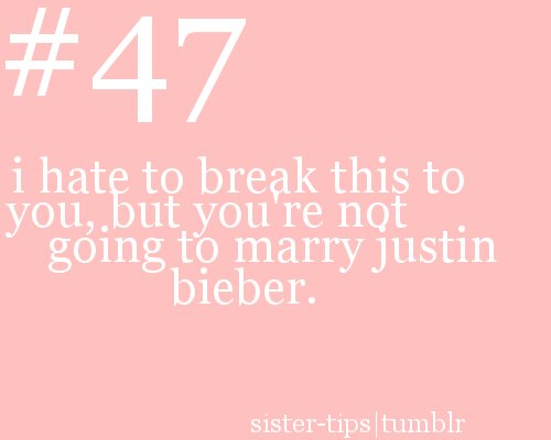 funny, justin bieber, sister, tips, yeah we wanna bet