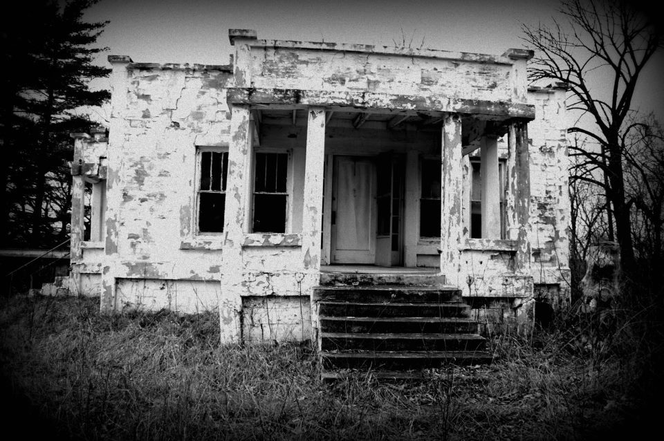haunted, house, old and photography
