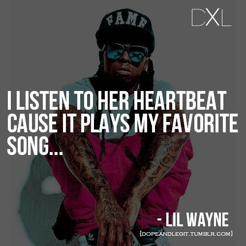 lil wayne, song, text, thought