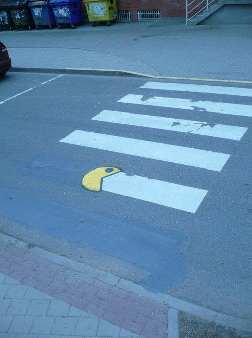 lol, pac man, street