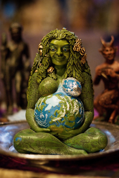 mother earth, mother nature, pagan, wicca, wiccan - image