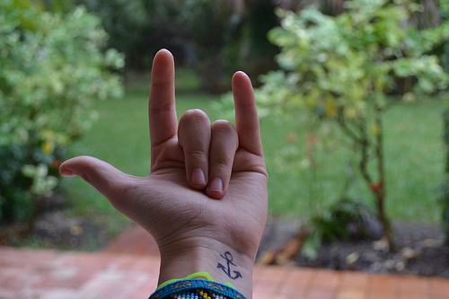(s), anchor, awesome, band, bands, body, hand, hand sign, i love you, i love you asl, love, metal, music, sign, tatoo, tatto, tattoo