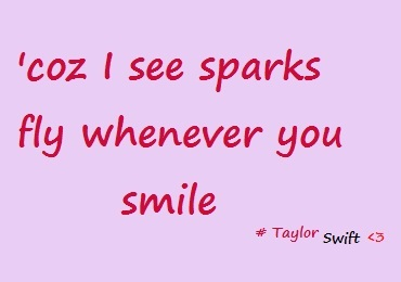 song, sparks fly, taylor swift, taylor swift lyrics